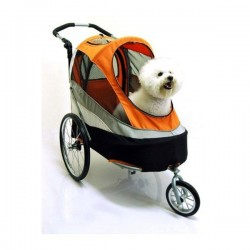 Innopet Sporty dog trailer deluxe orange