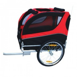 Basic dog bike trailer