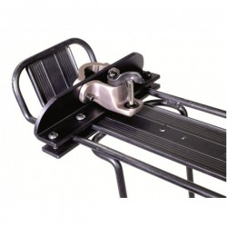 Burley Travoy hitch on cycle rack