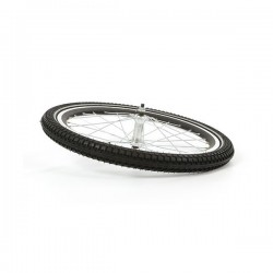 Cargo bike front wheel side...