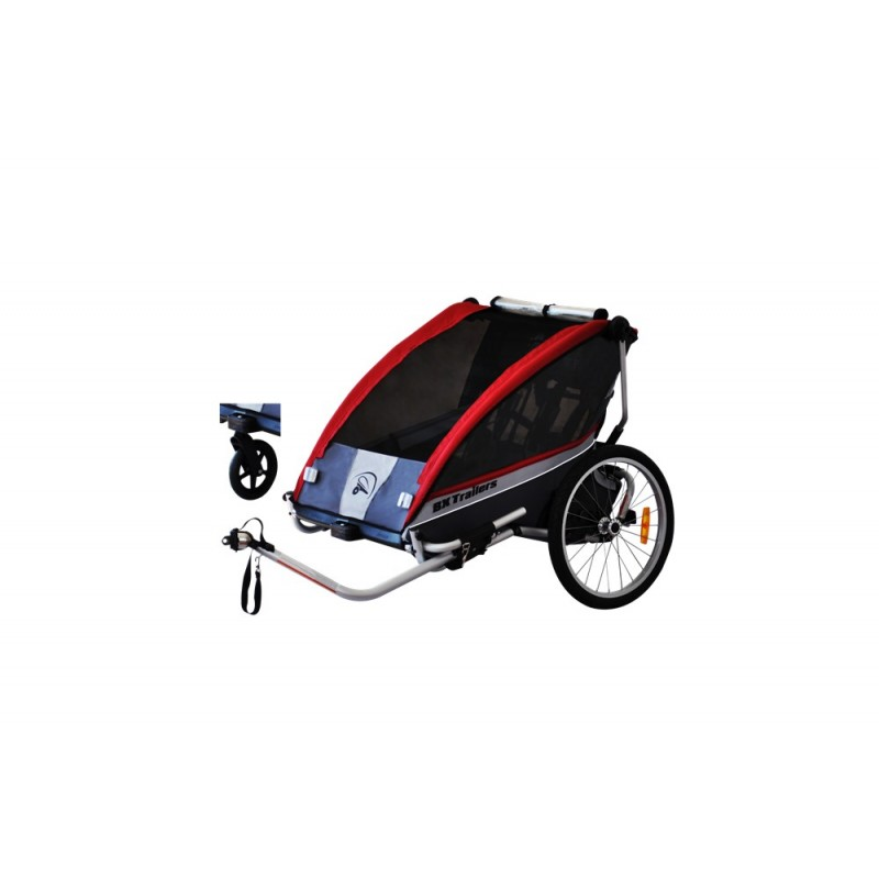 BXTrailers SE2 fietskar rood