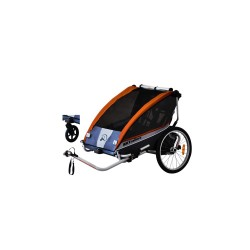BXTrailers SE2 bike trailer orange