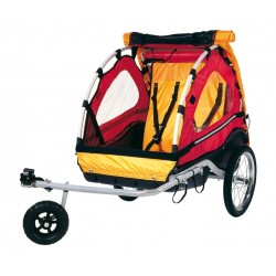 Kiddy Van 101 remorque enfant + kit poussette