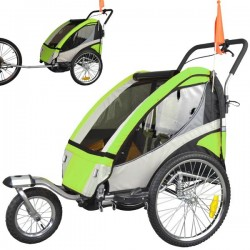 Exclusive fahrradanhänger mit Jogger Kit