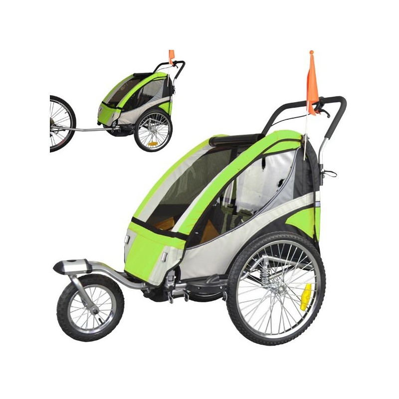Exclusive bike trailer with Jogger Set