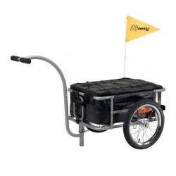 Vantly cargo bike trailer with bag