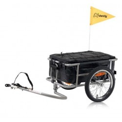 Vantly cargo bike trailer with bag