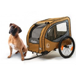 Qeridoo Petrex dog bike trailer