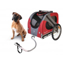 Doggyride original dog bike trailer