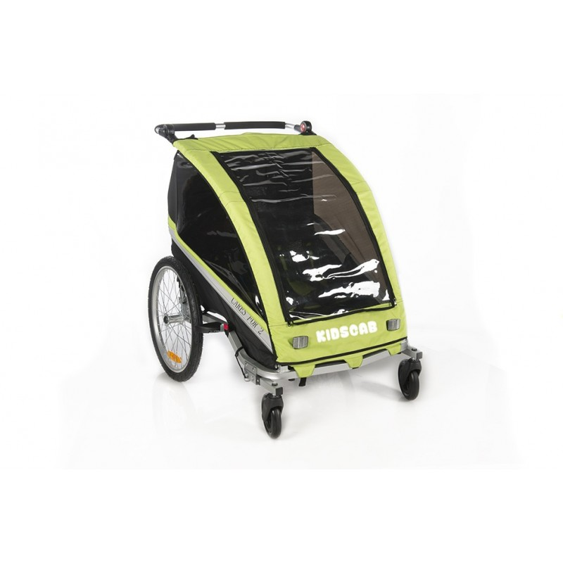 KidsCab Cares for 2 bike trailer