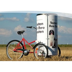 Nihola Posterbike billboard tricycle