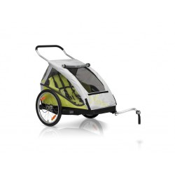 XLC Duo bicycle trailer - Green