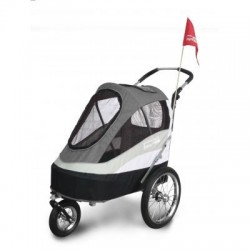 Innopet Sporty dog trailer deluxe black/grey