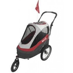Innopet Sporty dog trailer deluxe red