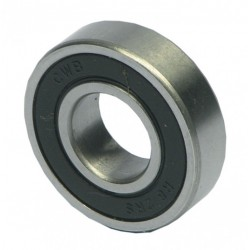 Wheel bearings for wheel of child bike trailer