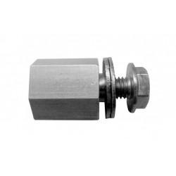 Croozer axle hitch adapter M10 x 1