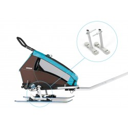 Croozer adapteur kit ski