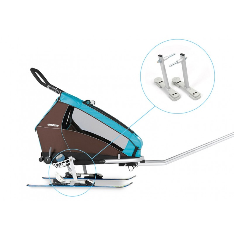 Croozer Ski Adapter kit