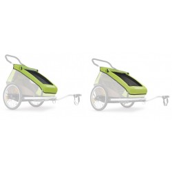 Croozer cover Meadow green from 2016