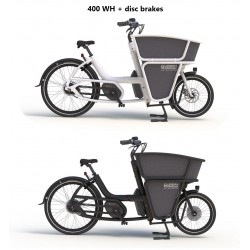 Urban Arrow Shorty cargo 400WH disc brakes