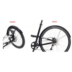 Veleon mudguards front and rear