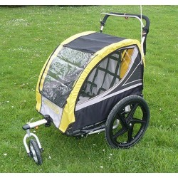 Maxxus 2 bike trailer with suspension