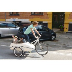 Scandinavian Side Bike Fiber trailer