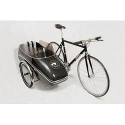 Scandinavian Side Bike Carbon fahrradanhänger