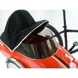 Scandinavian side bike housse pluie