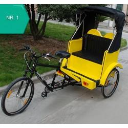 KidsCab rickshaw vélo taxi
