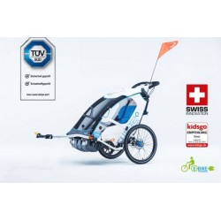 Leggero Enso Sail child bike trailer