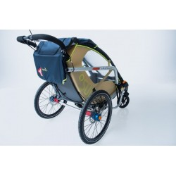 Leggero Enso Surf child bike trailer