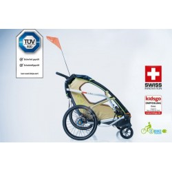 Leggero Enso Surf child bike trailer