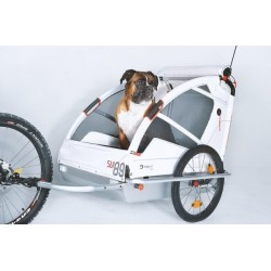 Leggero Vento remorque vélo chien