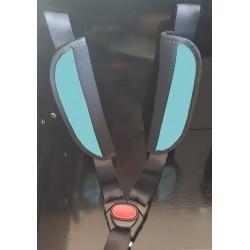 Triporteur/biporteur gardes pour ceinture de sécurité