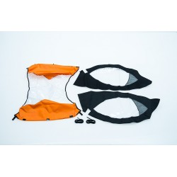Regen-Set Leggero Twist orange