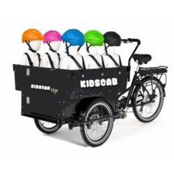 KidsCab big Daddy daycare child cargo bike 6 kids