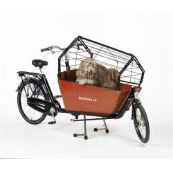 Bakfiets.nl Cargobike long cage de chien