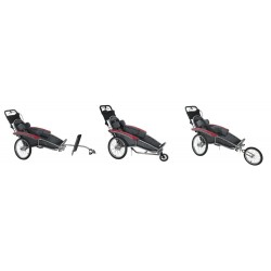 KidsCab Junior Special needs bike trailer