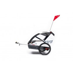 Leggero Vento R family Sail child bike trailer