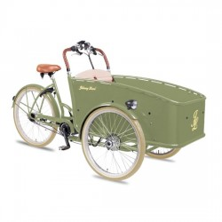 Johnny Loco E-Bike Cargo Lima kindertransportrad