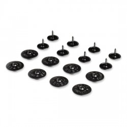 Johnny Loco buttons for rain cover (8 pcs)