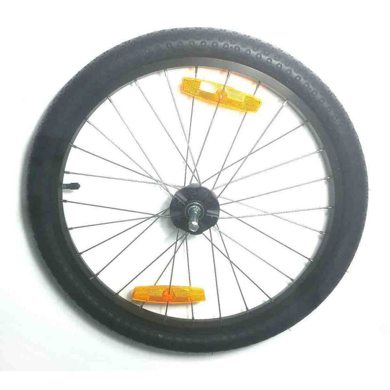 Qeridoo Kidgoo-S 20 inch side wheel disc brakes from 2017