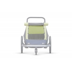 Croozer kid for Sonnenschutz Lemon green