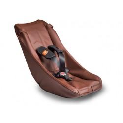 Babyschale Comfort Braun Leder