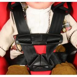 Lastenfahrrad Sicherheitsgurt Gürtelklemme Brustklammer
