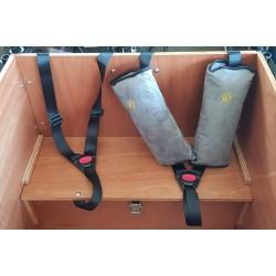 Child cargo trike belt protection belt cushion extra thick
