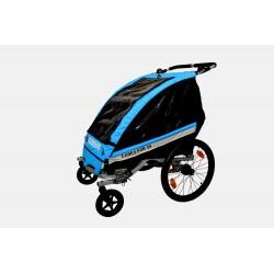 KidsCab Cares for 2S remorque vélo - jogger - poussette