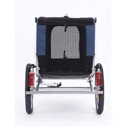 KidsCab Cares for Dogs M bike trailer
