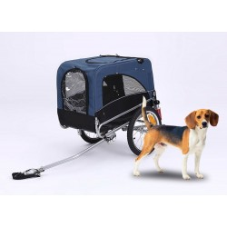 KidsCab Cares for Dogs M bike trailer